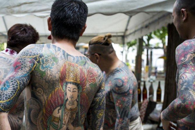 татуировка якудзы