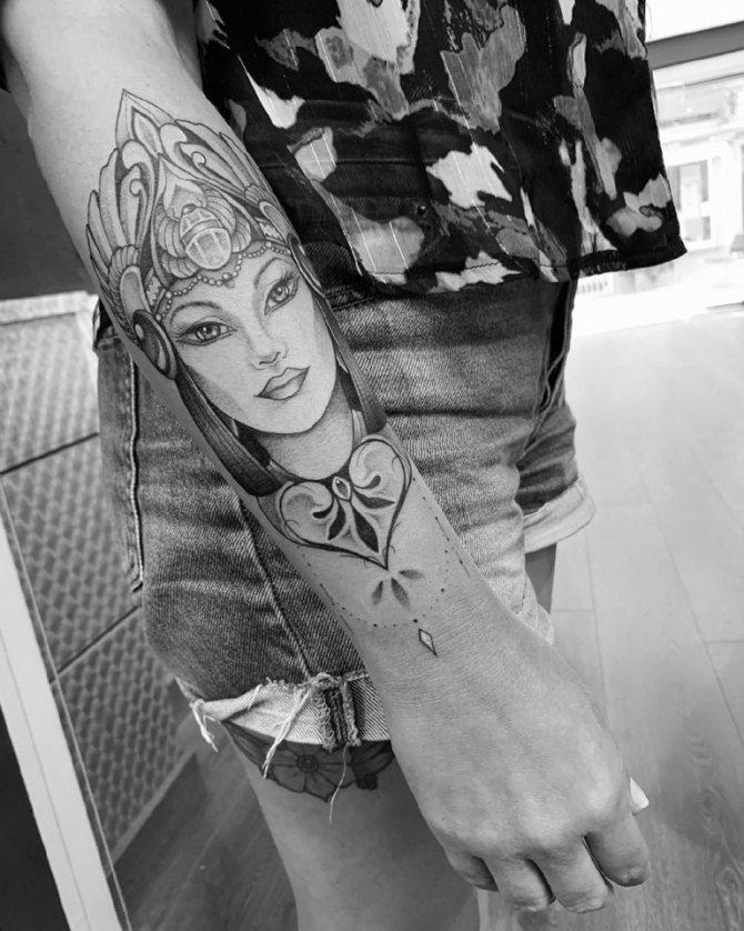 татуировки египет