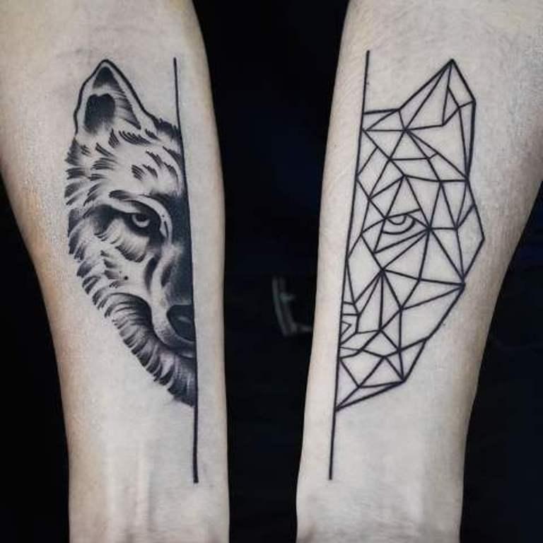 татуировки геометрические