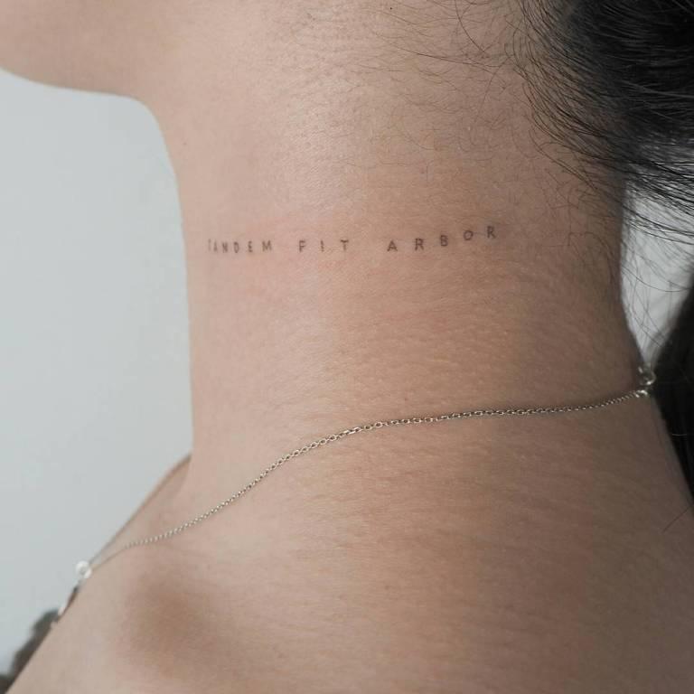 татуировки надписи на латыни с переводом