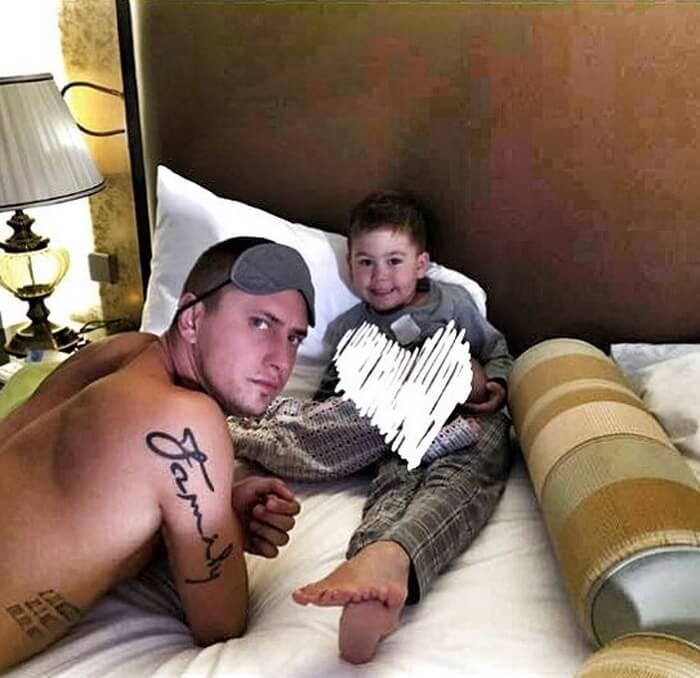 Татуировки Павла Прилучного