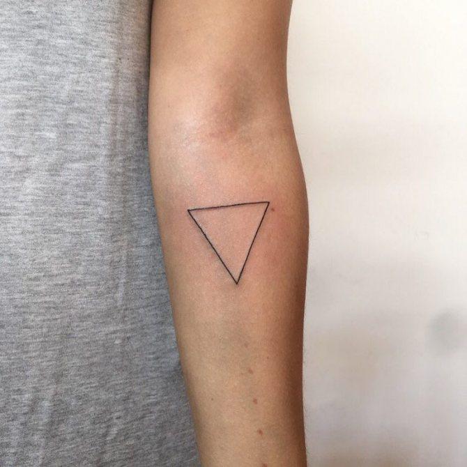 татуировки треугольник значение