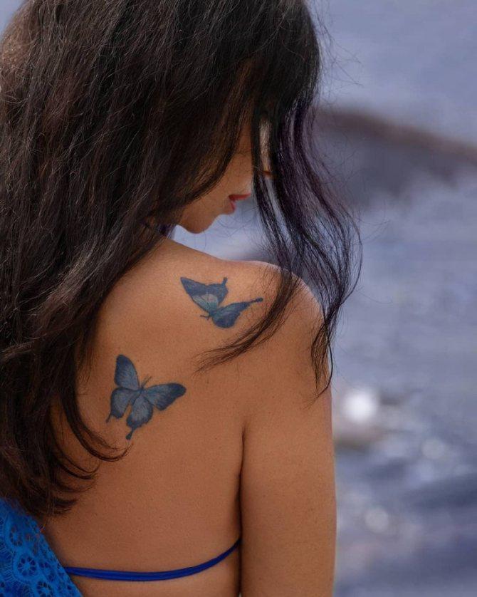 татуировки животные
