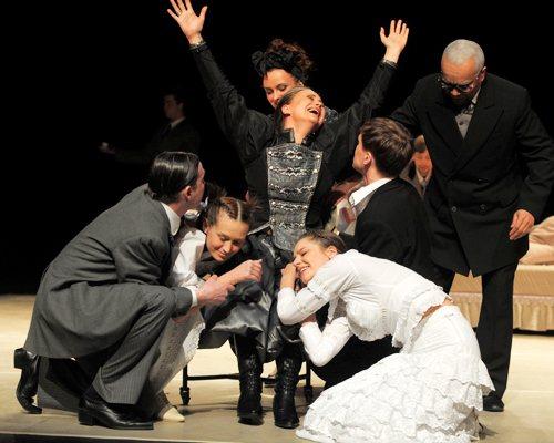театральная карьера тархановой
