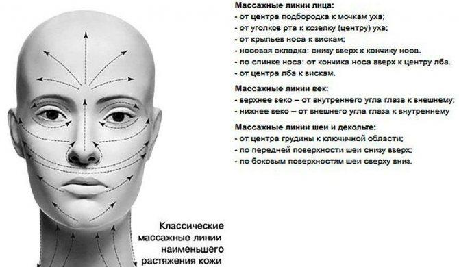 Техника нанесения крема по массажным линиям лица, шеи и зоны декольте, фото № 2