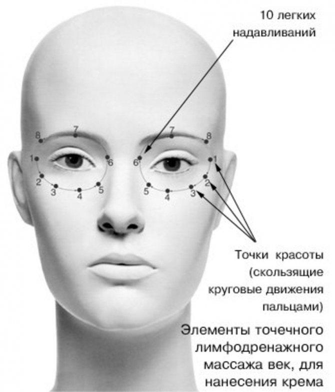 Техника нанесения крема по массажным линиям лица, шеи и зоны декольте, фото № 3