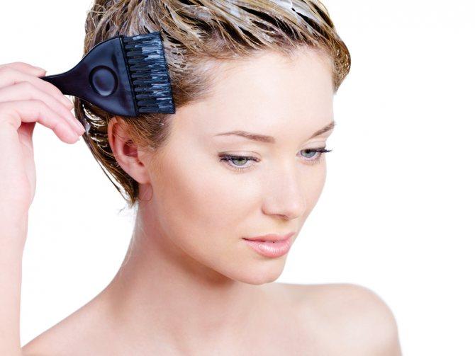 Технология декапирования волос