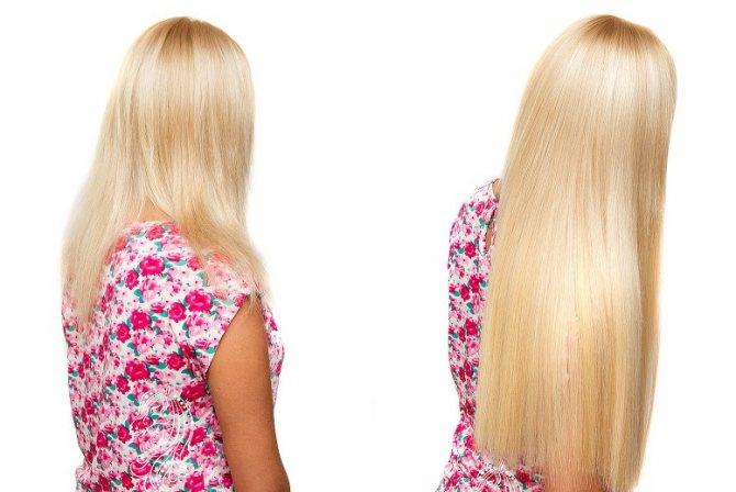 технология наращивания волос капсулами
