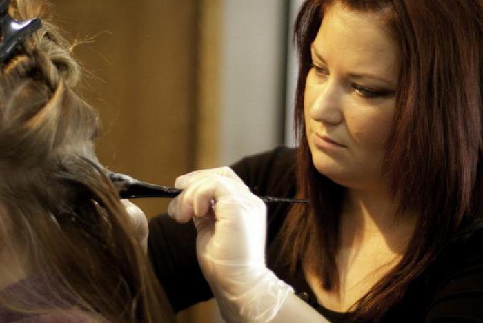 технология окрашивания волос балаяж