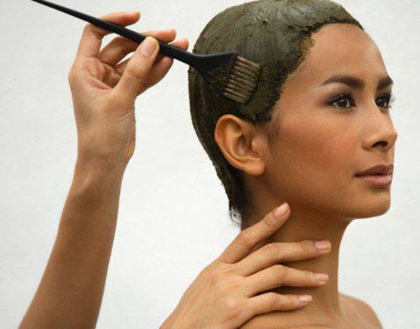 Технология окрашивания волос смесью хны и басмы