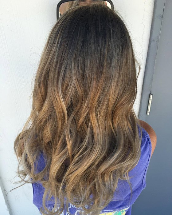 Темно-русый блонд