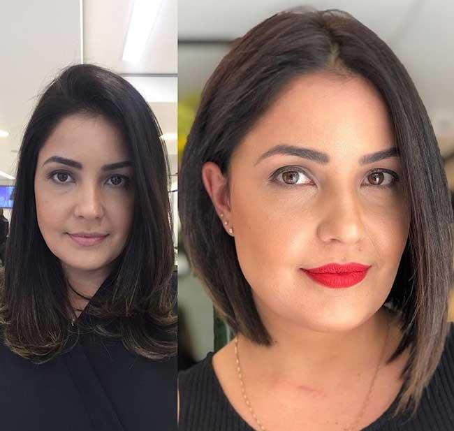 Темно-шоколадный оттенок волос - мода 2019