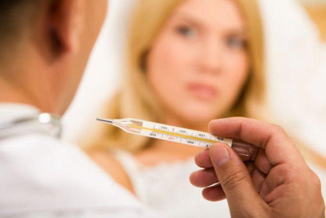 температура у беременной