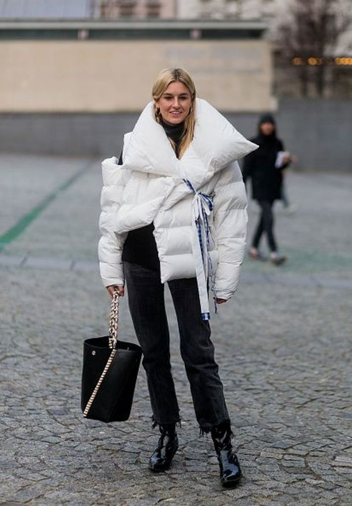 Теплое Чудо — модные пуховики с подиумов и не только, фото № 18