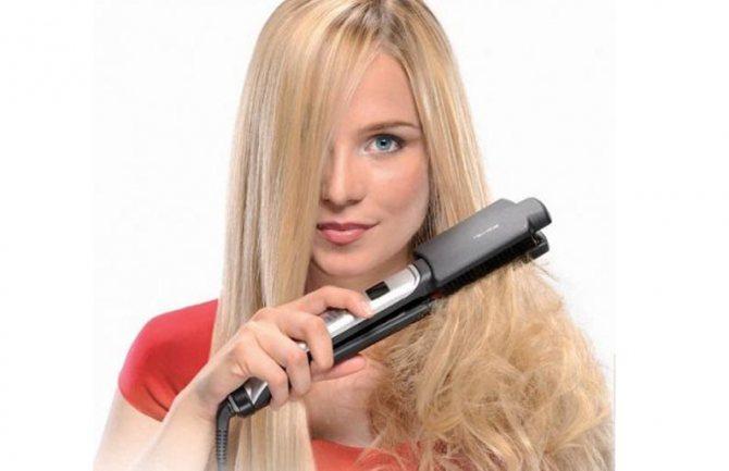 Термоукладки - причины тусклых и ломких волос