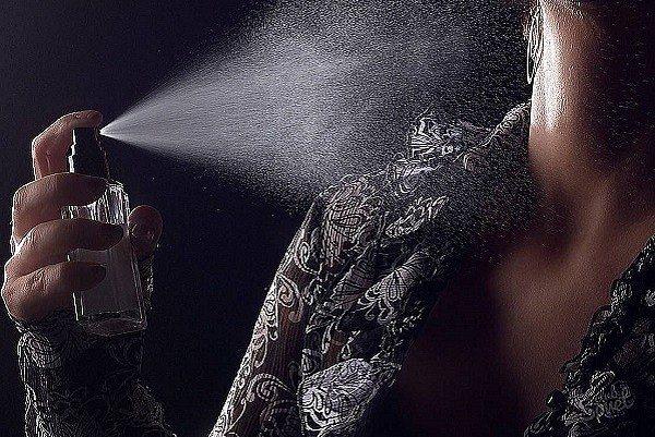 терпкий парфюм