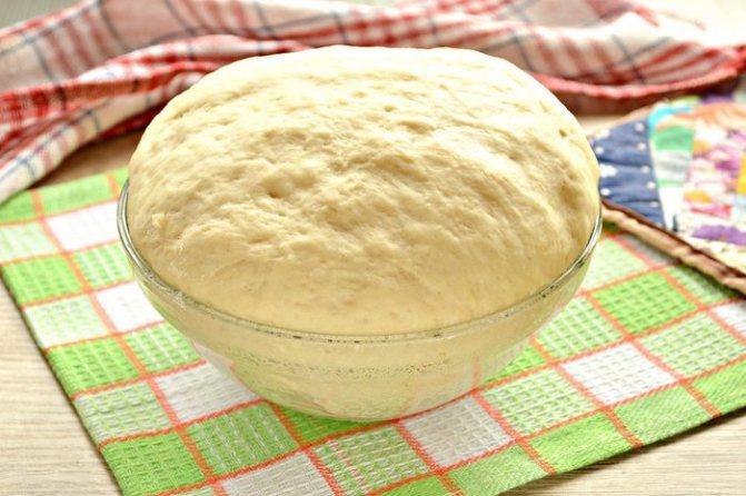 Тесто для пирога с капустой дрожжевое, без дрожжей, на кефире, в духовке, хлебопечке. Пошаговый рецепт с фото