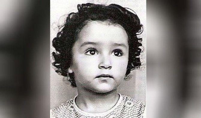 Тина Канделаки в детстве