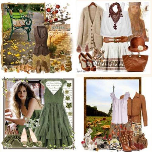 Тип девушек осень. Прекрасная женщина «Осень»
