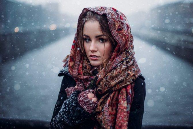 тип женщины зима