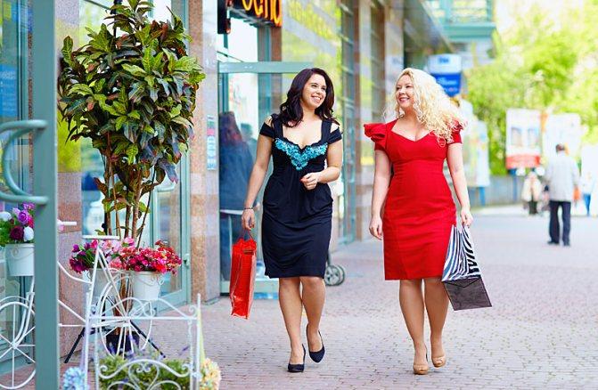 Типы женских фигур: подбираем одежду