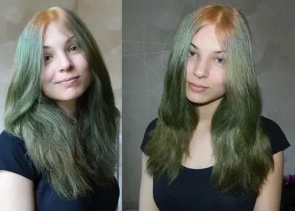 тоник на светлых волосах