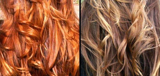 тоникой можно осветлить волосы