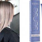 Тонирование волос краской Эстель