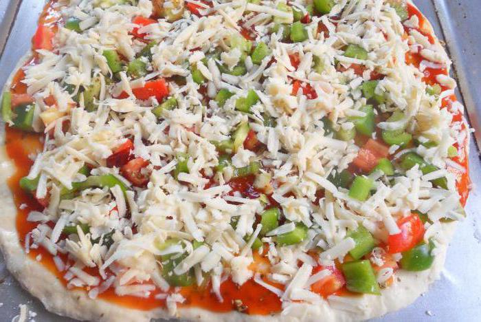 тонкое тесто для пиццы на воде