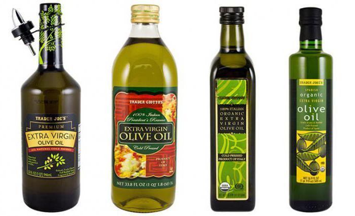 Торговые марки оливкового масла