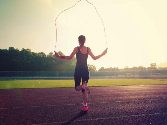 Тренировки со скакалкой для похудения