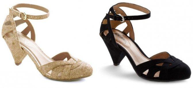 Туфли для свидетельницы