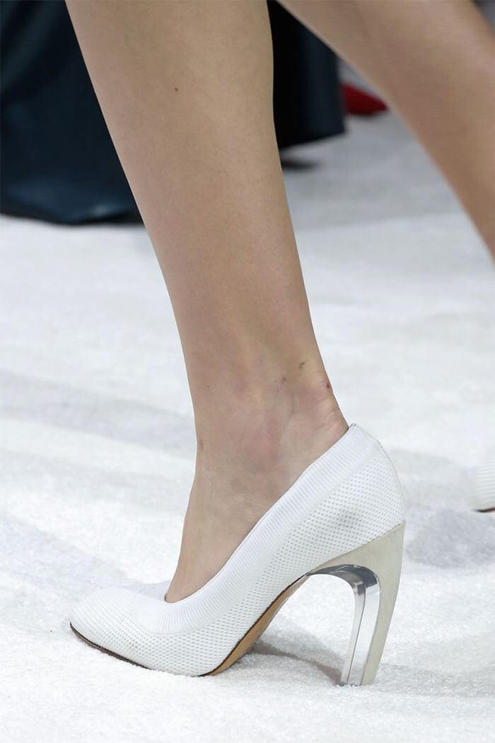 Туфли с прозрачными каблуками (Valentino)