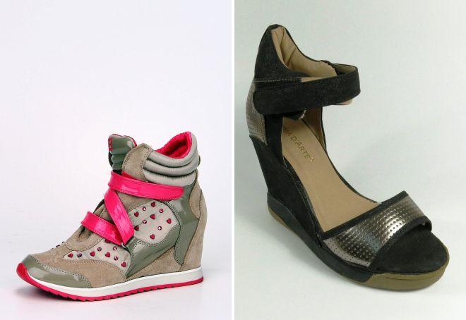 туфли сникерсы
