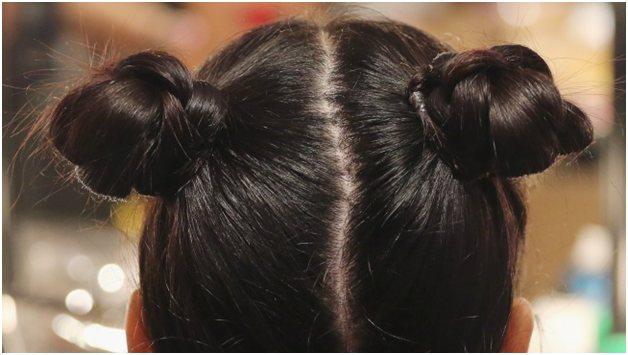 Тугие пучки, стягивающие волосы