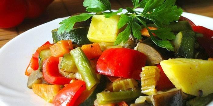 вареные овощи для похудения рецепт