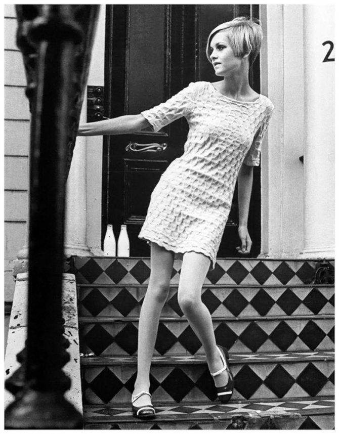 Твигги и революция в моде 60-х годов ХХ века, фото № 13