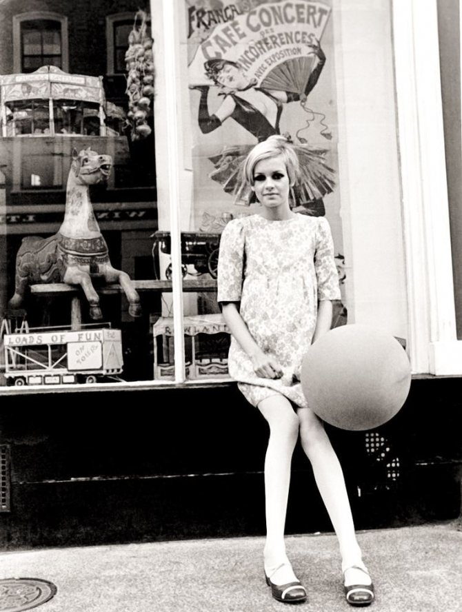 Твигги и революция в моде 60-х годов ХХ века, фото № 6