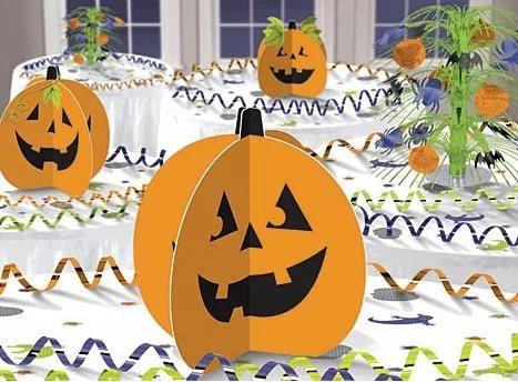 Тыква из бумаги своими руками на Хэллоуин