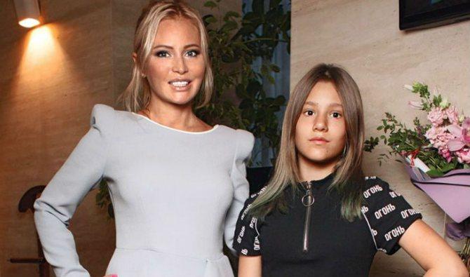 У Даны Борисовой и ее дочери Полины непростые отношения