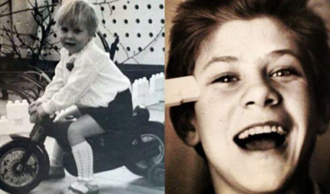 У Мити было прекрасное детство.
