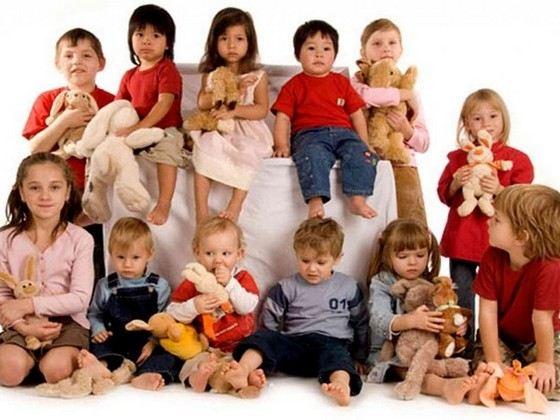У самого многодетного отца в России было 72 ребенка