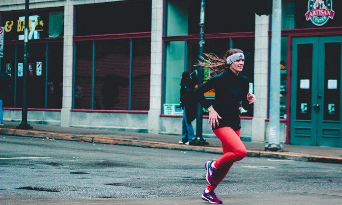 Удобный вид бега