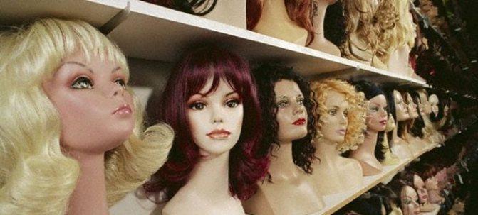 Уход за париком натуральных волос