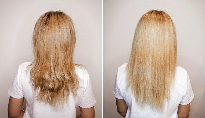 уход за волосами после ботокса