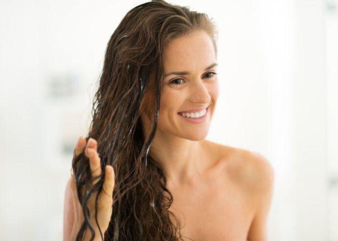 Ухоженные длинные волосы