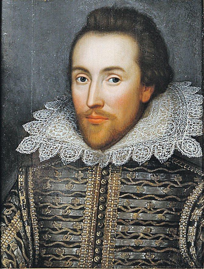 Уильям Шекспир. Фото: wikipedia.org