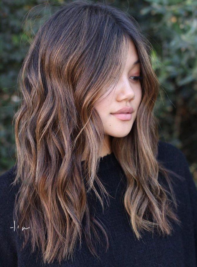 Укладка волос утюжком фото 2