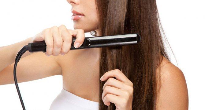 Укладка волос утюжком в домашних условиях