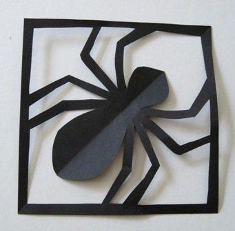 украшение на хэллоуин своими руками из бумаги